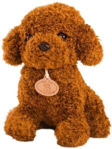 Peluche de Caniche de STOBOK de 18 cm - Los mejores peluches de caniches - Peluches de perros