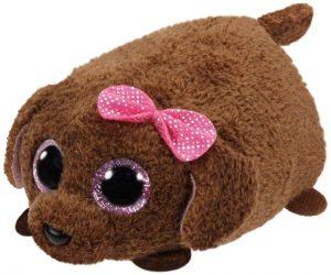 Peluche de Caniche marrón de Ty de 10 cm - Los mejores peluches de caniches - Peluches de perros
