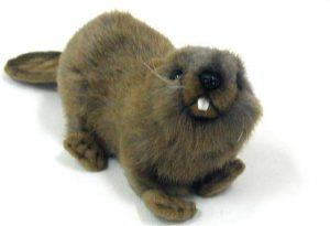 Peluche de Castor de Hansa de 22 cm - Los mejores peluches de castores - Peluches de animales