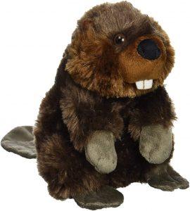 Peluche de Castor de Wild Republic de 20 cm - Los mejores peluches de castores - Peluches de animales