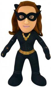 Peluche de Catwoman de 25 cm - Los mejores peluches de Catwoman - Peluches de superhéroes de DC