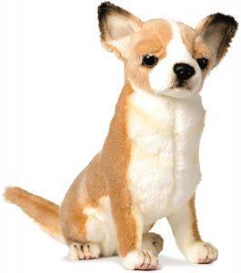 Peluche de Chihuahua de Hansa de 31 cm - Los mejores peluches de Chihuahuas - Peluches de perros