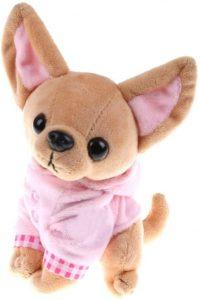 Peluche de Chihuahua de Marnis de 17 cm - Los mejores peluches de Chihuahuas - Peluches de perros