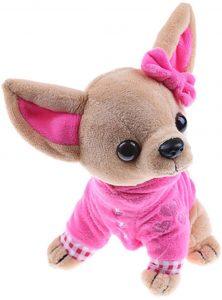 Peluche de Chihuahua de WFZ de 17 cm - Los mejores peluches de Chihuahuas - Peluches de perros