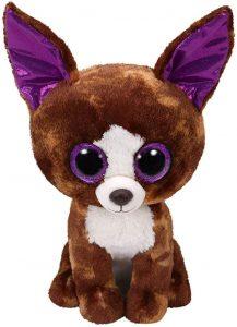 Peluche de Chihuahua marrón de Ty de 23 cm - Los mejores peluches de Chihuahuas - Peluches de perros