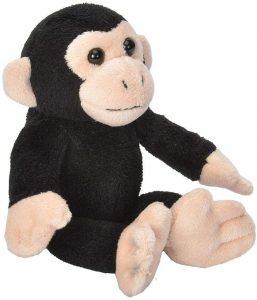 Peluche de Chimpancé con cría de Wild Republic de 15 cm - Los mejores peluches de chimpances - Peluches de animales