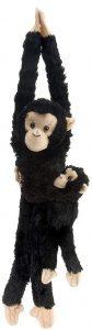 Peluche de Chimpancé con cría de Wild Republic de 51 cm - Los mejores peluches de chimpances - Peluches de animales