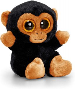 Peluche de Chimpancé de Animotsu de 15 cm - Los mejores peluches de chimpances - Peluches de animales