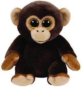 Peluche de Chimpancé de Ty de 23 cm 2 - Los mejores peluches de chimpances - Peluches de animales