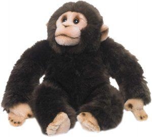 Peluche de Chimpancé de WWF de 23 cm - Los mejores peluches de chimpances - Peluches de animales