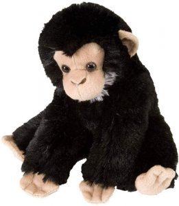 Peluche de Chimpancé de Wild Republic de 20 cm 3 - Los mejores peluches de chimpances - Peluches de animales