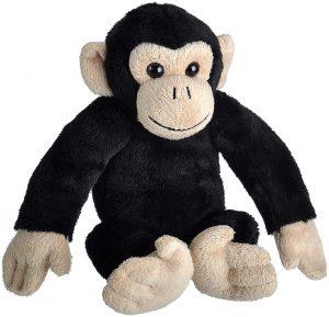 Peluche de Chimpancé de Wild Republic de 20 cm - Los mejores peluches de chimpances - Peluches de animales