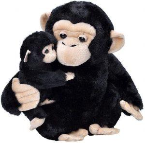 Peluche de Chimpancé de Wild Republic de 28 cm - Los mejores peluches de chimpances - Peluches de animales