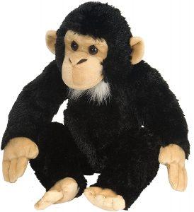 Peluche de Chimpancé de Wild Republic de 30 cm - Los mejores peluches de chimpances - Peluches de animales
