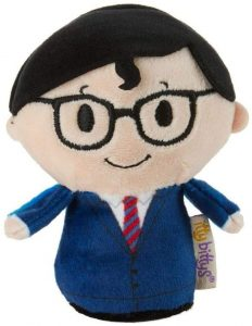 Peluche de Clark Kent de 10 cm - Los mejores peluches de Superman - Peluches de superhéroes de DC
