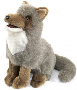 Peluche de Coyote de Folkmanis de 33 cm - Los mejores peluches de Coyotes - Peluches de animales