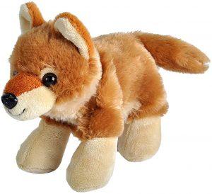 Peluche de Coyote de Wild Republic de 18 cm - Los mejores peluches de Coyotes - Peluches de animales