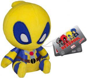 Peluche de Deadpool amarillo de 11 cm de FUNKO - Los mejores peluches de Deadpool - Peluches de superhéroes de Marvel