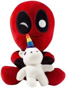 Peluche de Deadpool con unicornio de 17 cm - Los mejores peluches de Deadpool - Peluches de superhéroes de Marvel