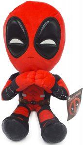 Peluche de Deadpool corazón de 32 cm - Los mejores peluches de Deadpool - Peluches de superhéroes de Marvel