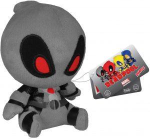 Peluche de Deadpool gris de 11 cm de FUNKO - Los mejores peluches de Deadpool - Peluches de superhéroes de Marvel
