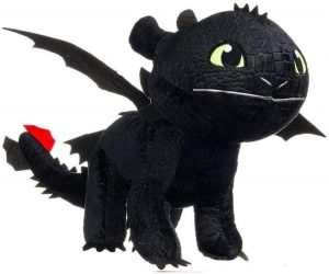 Peluche de Desdentao de 30 cm - Los mejores peluches de como Entrenar a tu Dragón 3 - Peluches de como Entrenar a tu Dragón 3