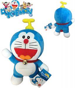 Peluche de Doraemon con gorrocóptero de 25 cm de Play by Play - Los mejores peluches de Doraemon - Peluches de personajes de gato de Doraemon