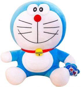 Peluche de Doraemon de 68 cm de Tritow - Los mejores peluches de Doraemon - Peluches de personajes de gato de Doraemon
