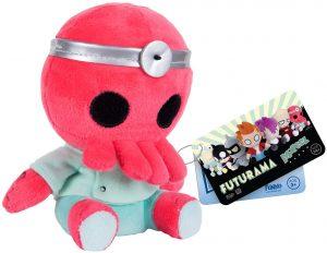 Peluche de Dr. Zoidberg de 15 cm de FUNKO - Los mejores peluches de Futurama - Peluches de personajes de Futurama