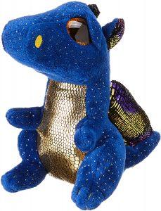 Peluche de Dragón azul de Ty de 15 cm - Los mejores peluches de dragones - Peluches de animales