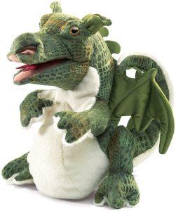 Peluche de Dragón de Folkmanis de 23 cm - Los mejores peluches de dragones - Peluches de animales