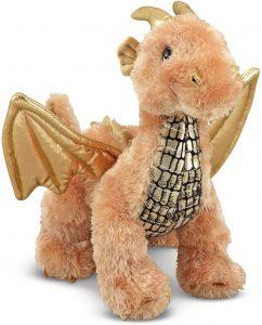 Peluche de Dragón de Melissa and Doug de 27 cm - Los mejores peluches de dragones - Peluches de animales