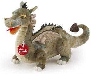 Peluche de Dragón de Trudi de 60 cm - Los mejores peluches de dragones - Peluches de animales