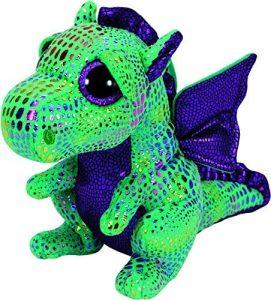 Peluche de Dragón verde de Ty de 15 cm - Los mejores peluches de dragones - Peluches de animales