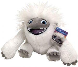 Peluche de Everest de Abominable Boca Abierta de 22 cm de Dreamworks - Los mejores peluches de Abominable - Peluches de personajes de Everest de Abominable