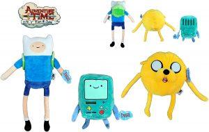 Peluche de Finn, Jake y BMO - Los mejores peluches de Hora de Aventuras - Peluches de personajes de Hora de Aventuras - Adventure Time