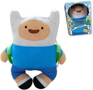 Peluche de Finn de 15 cm - Los mejores peluches de Hora de Aventuras - Peluches de personajes de Hora de Aventuras - Adventure Time