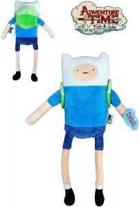 Peluche de Finn de 45 cm - Los mejores peluches de Hora de Aventuras - Peluches de personajes de Hora de Aventuras - Adventure Time