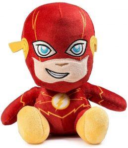 Peluche de Flash de Kidrobot de 15 cm - Los mejores peluches de Flash - Peluches de superhéroes de DC
