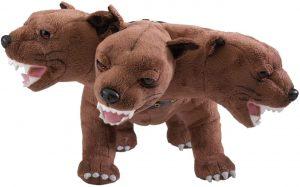 Peluche de Fluffy de 34 cm de Harry Potter - Los mejores peluches de perro de 3 cabezas - Peluches de Harry Potter