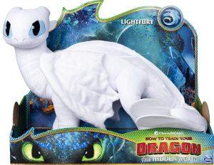 Peluche de Furia Luminosa de 36 cm - Los mejores peluches de como Entrenar a tu Dragón 3 - Peluches de como Entrenar a tu Dragón 3