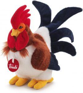 Peluche de Gallo de Trudi de 24 cm - Los mejores peluches de gallos - Peluches de animales