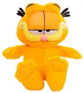 Peluche de Garfield de 25 cm - Los mejores peluches de Garfield - Peluches de personajes de gato de Garfield