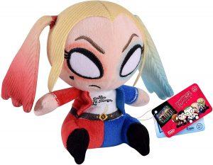 Peluche de Harley Quinn FUNKO de DC Comics de 12 cm - Los mejores peluches de Harley Quinn - Peluches de superhéroes de DC