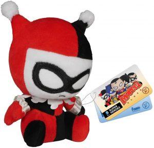 Peluche de Harley Quinn clásico FUNKO de DC Comics de 12 cm - Los mejores peluches de Harley Quinn - Peluches de superhéroes de DC