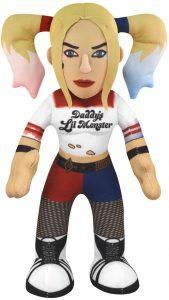 Peluche de Harley Quinn de 25 cm de Escuadrón Suicida - Los mejores peluches de Harley Quinn - Peluches de superhéroes de DC
