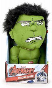 Peluche de Hulk con sonido de 25 cm - Los mejores peluches de Hulk - Peluches de superhéroes de Marvel