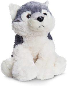 Peluche de Husky de Aurora de 30 cm - Los mejores peluches de huskys- Peluches de perros