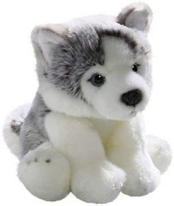 Peluche de Husky de Carl Dick de 22 cm - Los mejores peluches de huskys- Peluches de perros