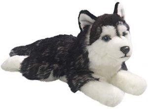 Peluche de Husky de Carl Dick de 32 cm - Los mejores peluches de huskys- Peluches de perros